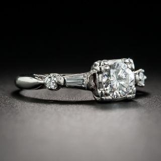 Vintage .58 Carat Diamond Engagement Ring
