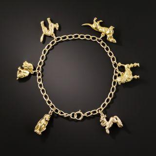 Vintage Animal Charm Bracelet - 2