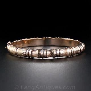 Vintage Bamboo Bangle Bracelet