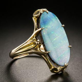 Vintage Boulder Opal Ring