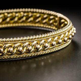 Vintage British Bangle Bracelet - 2