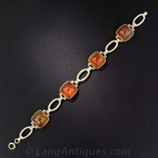 Vintage Carnelian Bracelet