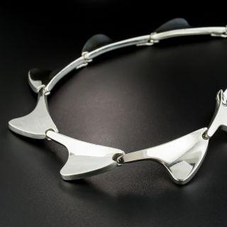 Vintage Danish Sterling Silver Necklace by Bent Knudsen
