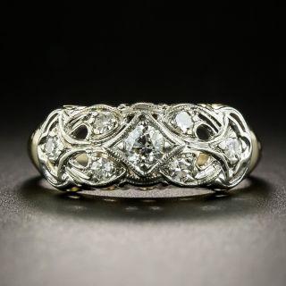 Vintage Diamond Band Ring, Circa 1940 - 2