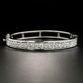 Vintage Diamond Bangle Bracelet - 2
