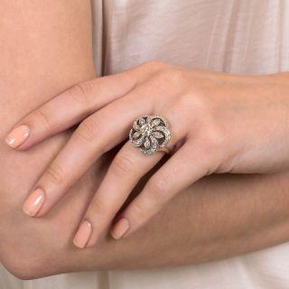 Vintage Diamond Pinwheel Ring by The Ball Company