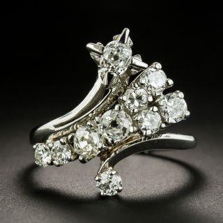 Vintage Diamond Spray Ring by Gleim's - 1