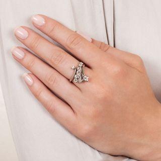 Vintage Diamond Spray Ring by Gleim's
