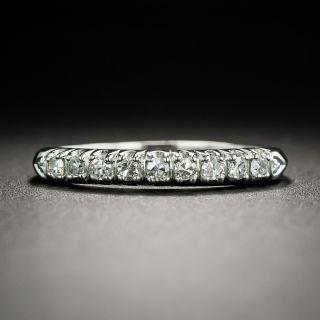 Vintage Diamond Wedding Band, Circa 1950s - 1