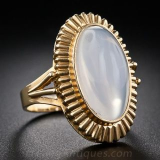 Vintage French Moonstone Ring