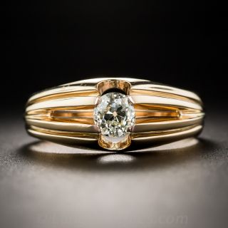 Vintage Gent's Diamond Solitaire