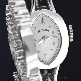 Vintage Ladies Diamond Bracelet  Cover Watch