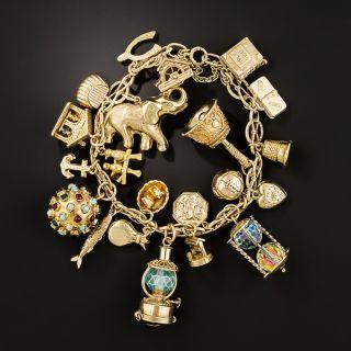 Vintage Multi-Charm Bracelet - 3