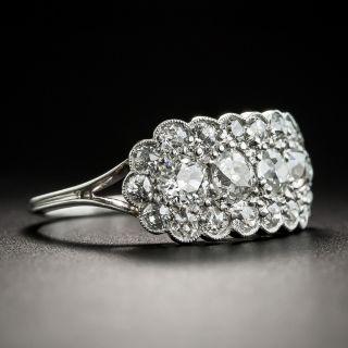 Vintage Platinum Diamond Band Ring