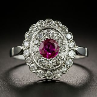 Vintage Ruby and Diamond Ring - 2
