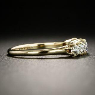 Vintage Six-Stone Diamond Band Ring