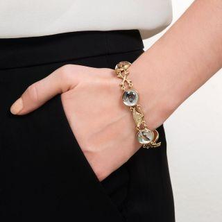 Vintage Sporting Life Reverse Intaglio Bracelet