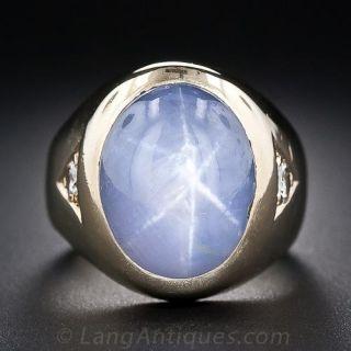 Vintage Star Sapphire Ring - 1