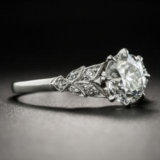 Lang Collection 1.47 Carat Diamond Platinum Engagement Ring - GIA I SI1