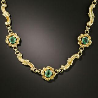 Vintage Tourmaline Necklace - 2