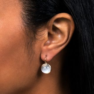 Cat's Eye Moonstone Earrings