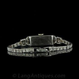 Waltham Diamond Deco Dress Watch
