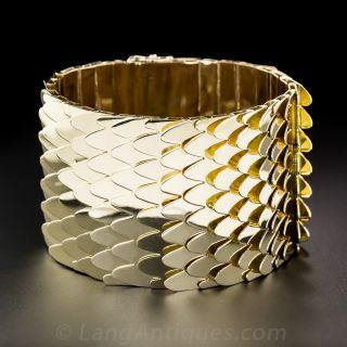 Wide Handmade Retro Bracelet - 2