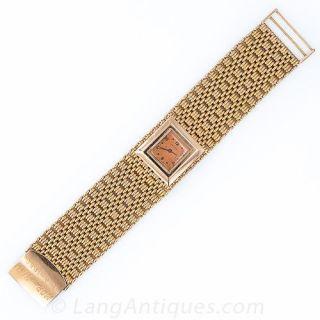 Wide Retro Bracelet Watch