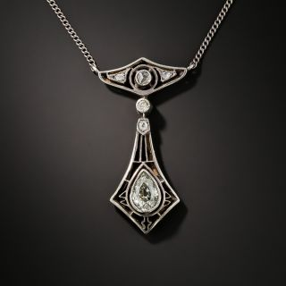 'Young Poland' Arts and Crafts Diamond Necklace - 3