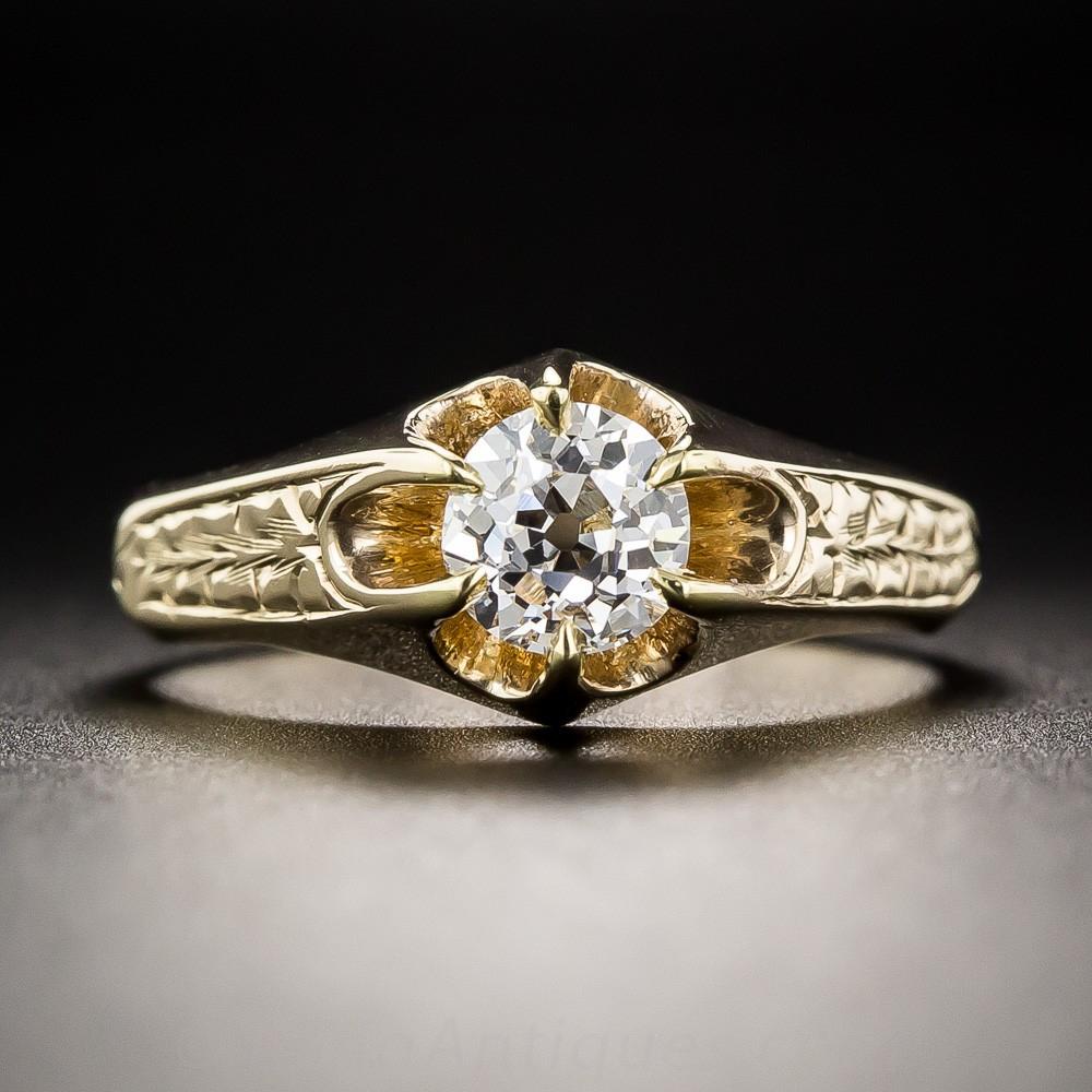Victorian Diamond Solitaire
