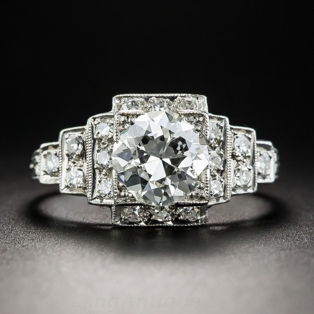 1.23 Carat Diamond Engagement Ring