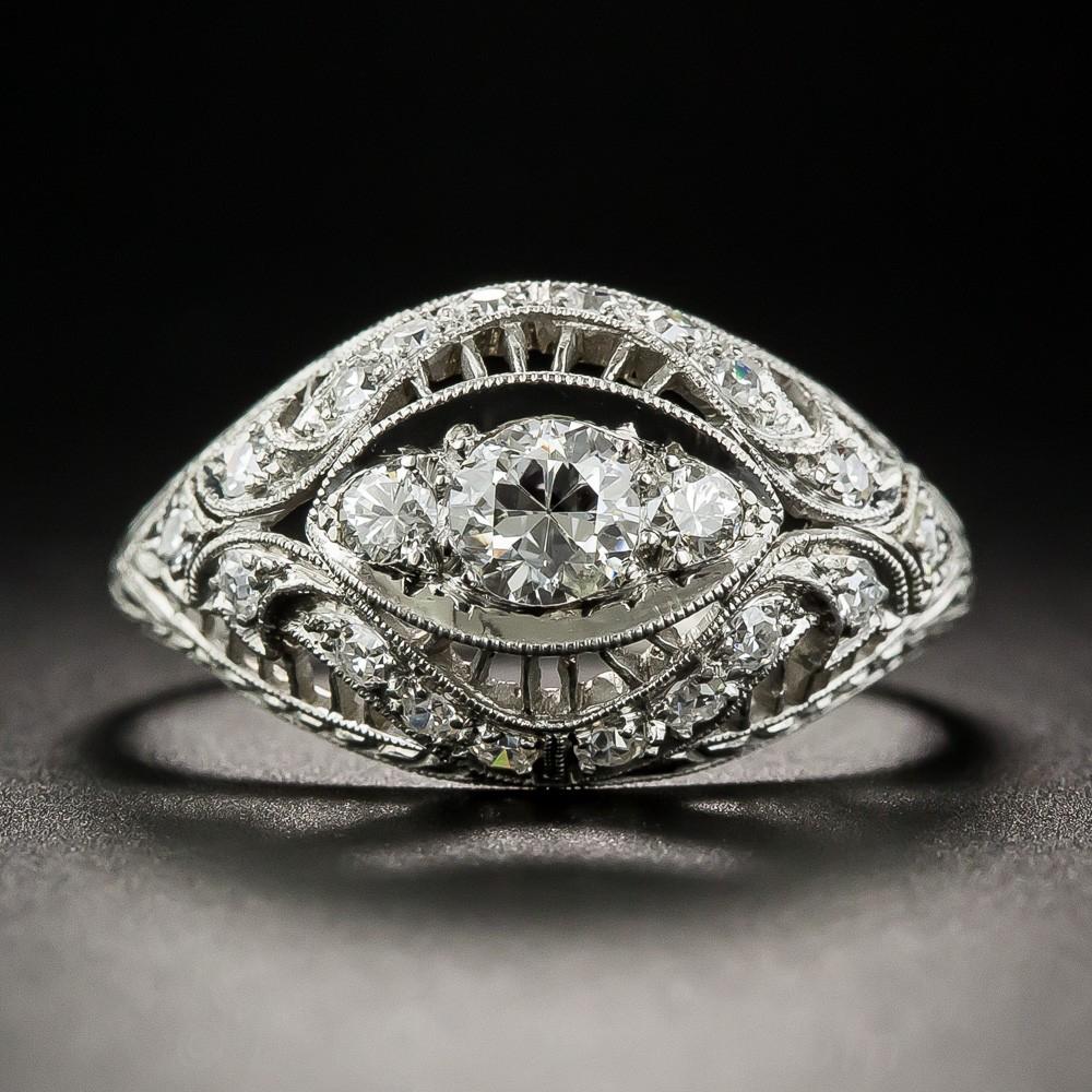 Tiffany & Co. Edwardian Diamond Ring