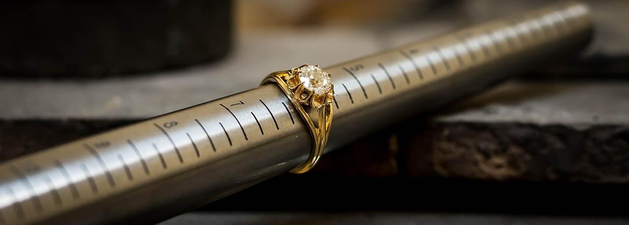 Lang Antiques Ring Sizing